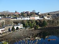 Portree Village by the Harbour