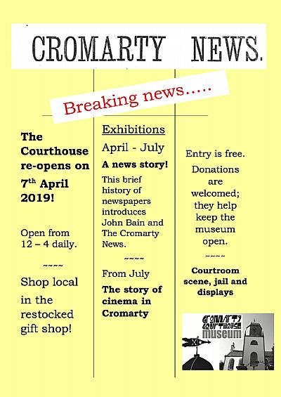 cromarty news flier