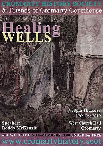 poster for talk on healing wells