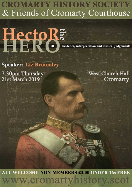poster for talk on 21 march hector the hero