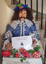 sir thomas urquhart welcoming guests