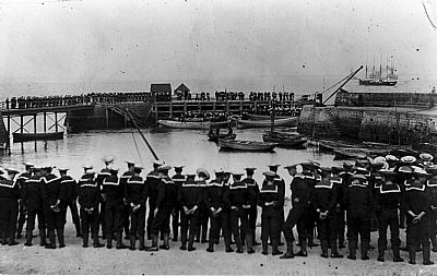 sailor's funeral. cromarty world war one
