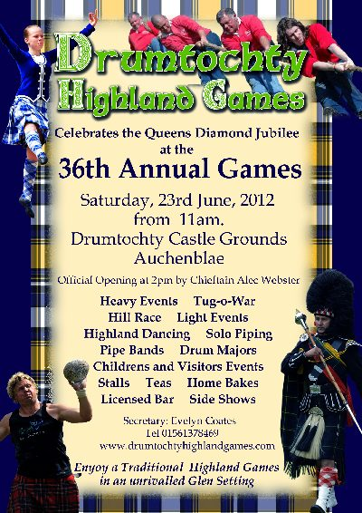 drumtochty highland games - 36th