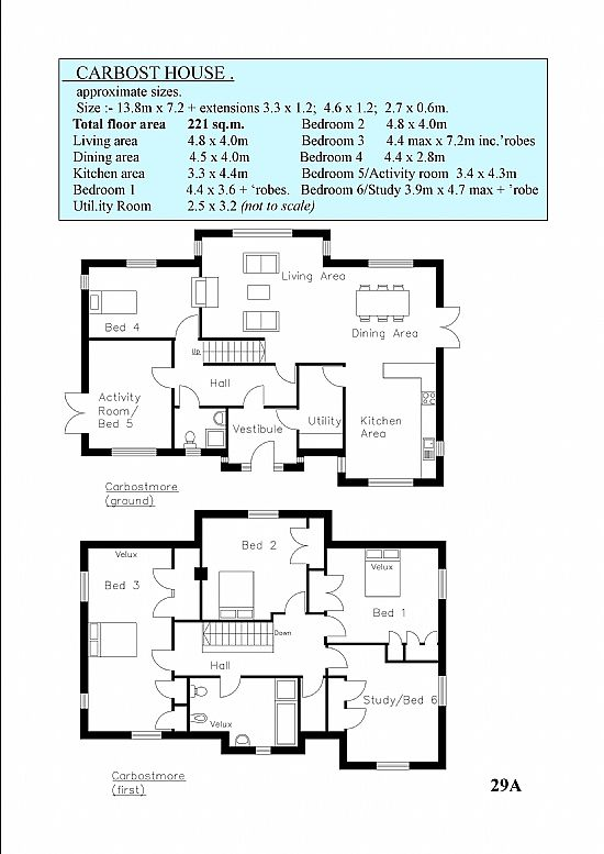 carbost house floor plan