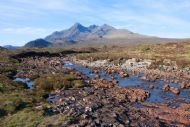Glen Sligachan in the heart of the Cuillin Mountains