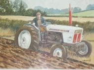 David Brown 990 c/w plough
