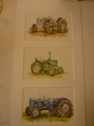 assorted tractors no. 8