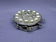 Clasp For Diamond and Pearl Bracelet