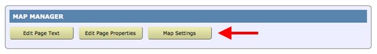 spanglefish - location map settings button