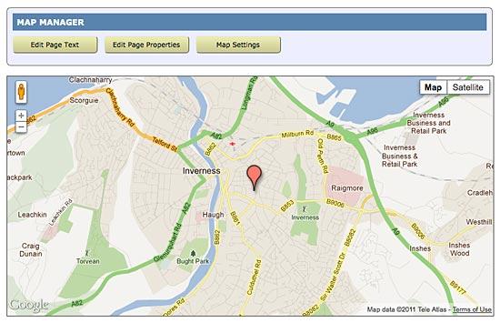 spanglefish location map