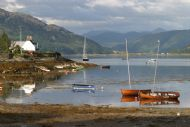 Plockton, 'jewel of the Highlands', looking towards the Strome narrows
