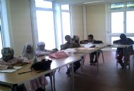 students at convent way community centre