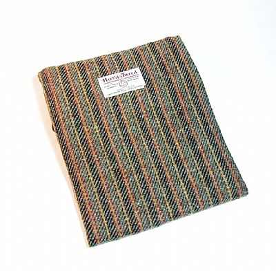 harris tweed tablet cover in red and grey stripes by roses workshop