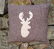 Stag cushion A