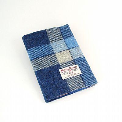 harris tweed diary notebook