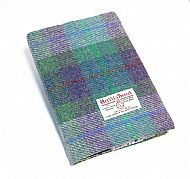 Harris tweed covered diary