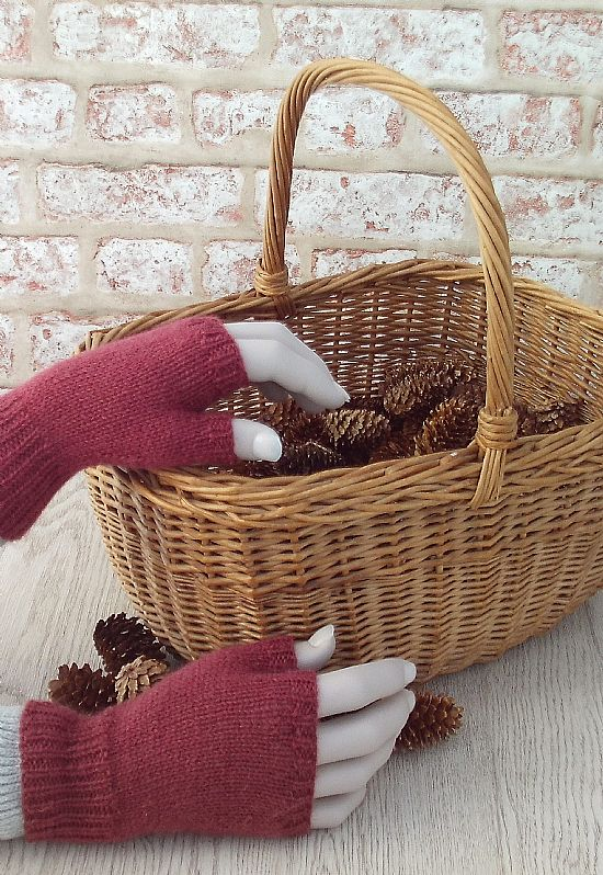 british wool gloves by roses workshop
