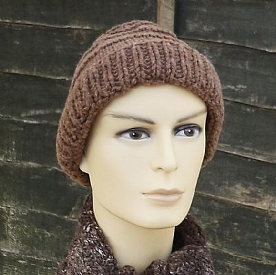 men's manx loaghtan beanie by roses workshop