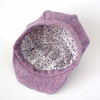 pretty cotton lining of harris weed hat