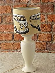 Campervan lampshade small drum