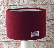 Extra large red lampshade 35cm