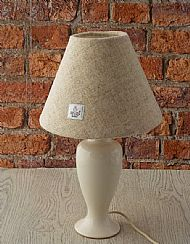 Small cone lampshade cream
