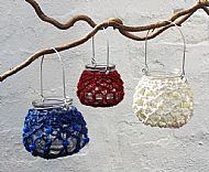 set of six small tealight holder
