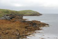 Looking south from Egilsay pier