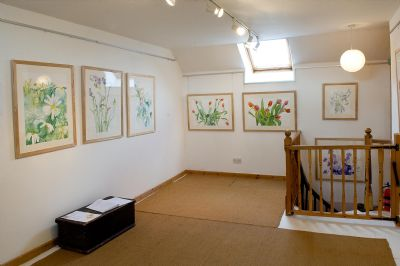 a view of the loft gallery