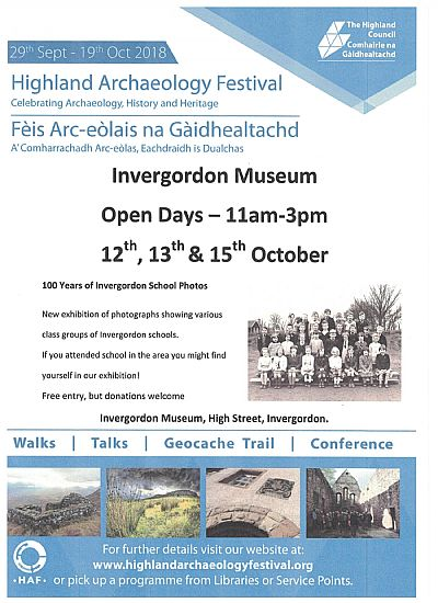 highland archaeology festival open days