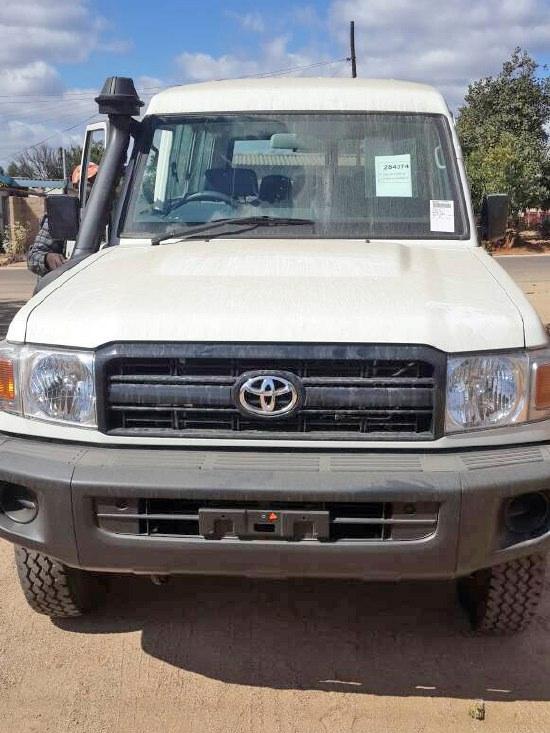 toyota landcruiser for pdc zimbabwe