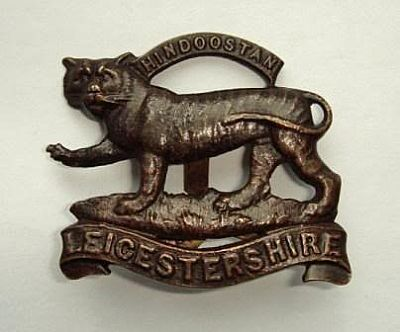 leicestershire regt. great war cap badge