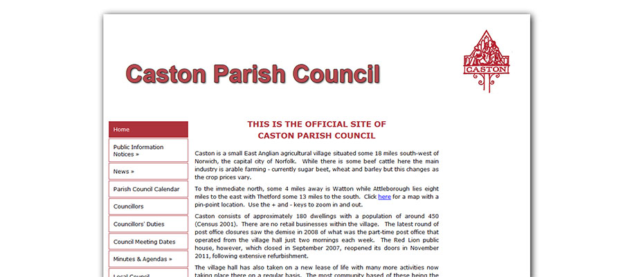 caston parish council
