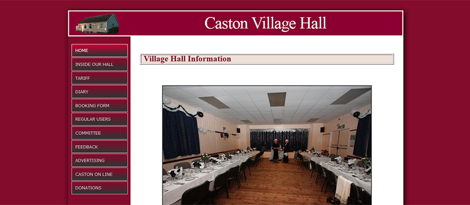 caston village hall