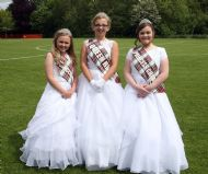 2015 Tartan Queen & Princesses