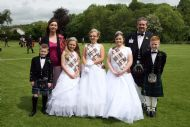 Tartan Queen, Princesses, Clansmen, Chieftain & Chairman