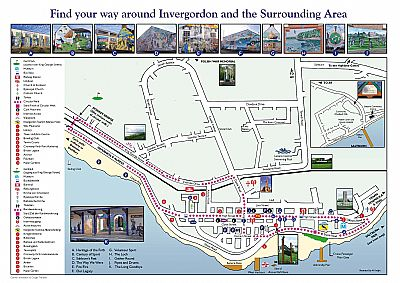 Invergordon Tourism Alliance Invergordon Town Map