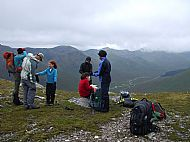 SYHA Glen Affric Munros Activity Holiday: On the S ridge of A' Chralaig