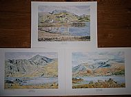 Set of 3 Peaks Prints