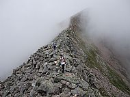 The Carn Mor Dearg Arete