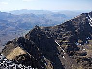 The Am Fasarinan Pinnacles of Liathach, Torridon.