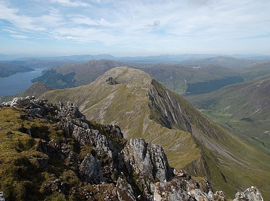 loch duich from the 5 sisters
