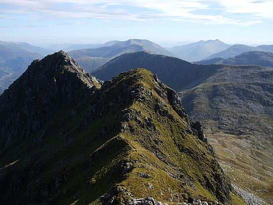 view from the forcan ridge