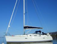 Beneteau 343 on mooring