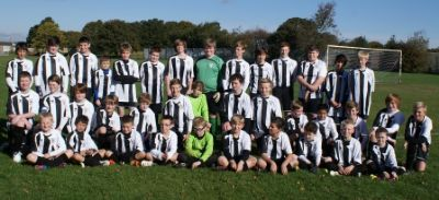 bufc youth teams 2012-13