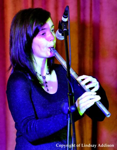 claire mann at the elphinstone hotel, biggar