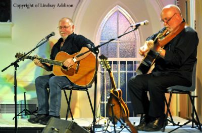 eric bogle and john munro farewell concert, biggar - copyright of lindsay addison
