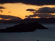 Sunset from Traighuaine Ard.