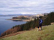 The hillside above Traighuaine.