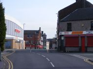 the strand looking towards the old jollees and bus station,2009